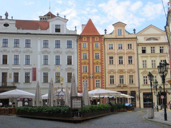 Prague Apartments U Kapra: Our square