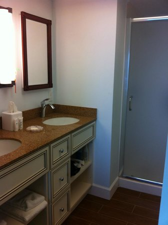 The Charter Club of Marco Beach: master bath