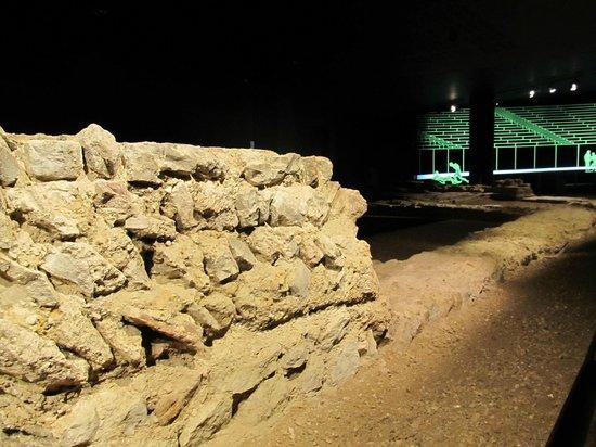Guildhall Art Gallery: Roman Ampitheatre (below Guildhall)
