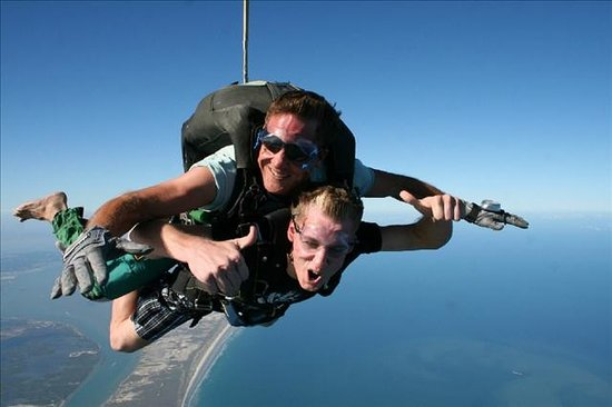 Skydive South Texas on Mustang Island: The only way to fly.
