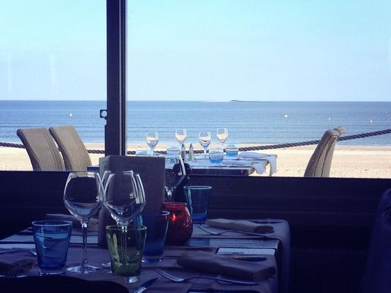L'Eden Beach : Vue du restaurant