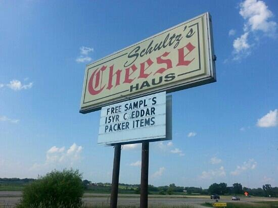 Beaver Dam, WI: Free Samples at Schultz's