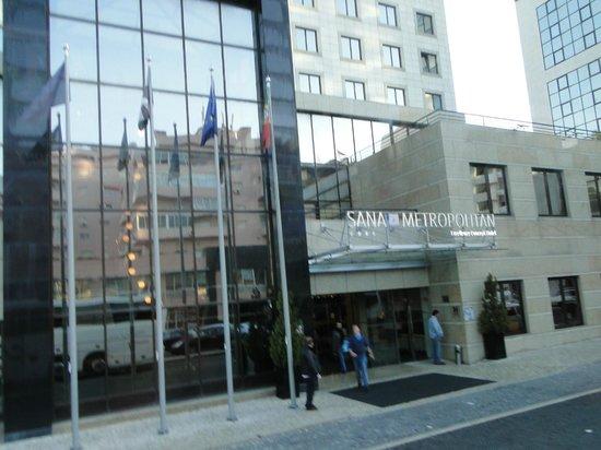 SANA Metropolitan Hotel : Fachada do hotel