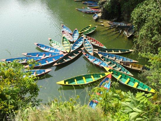 Sacred Valley Inn Pokhara: fewa lake