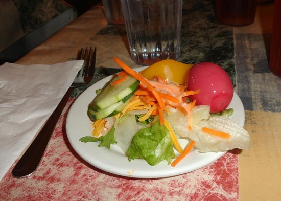 General Pickett's Buffets : I was so happy to get a pickled egg at the salad bar, and it was perfect!