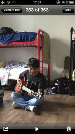 Nashville Downtown Hostel: A Chinese guy I met in the dorm