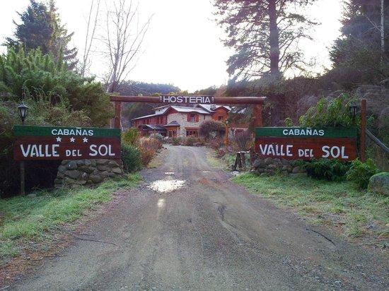 Hosteria Valle del Sol: Entrada a la hosteria