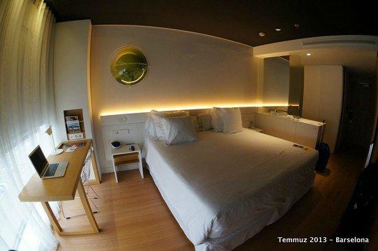Barcelo Sants: İki kişilik yatak çok rahat