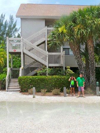 South Seas Island Resort: outside of Beach Cottage