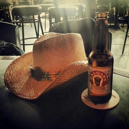Melrose Cafe & Bar : calgary beer at the melrose bar