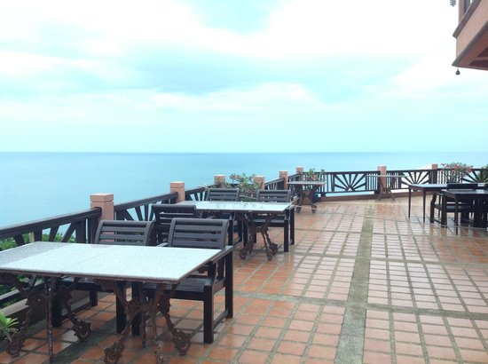 Samui Bayview Resort & Spa: view from the Dining area