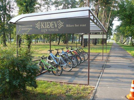 Park-Hotel Kidev : Территория отеля