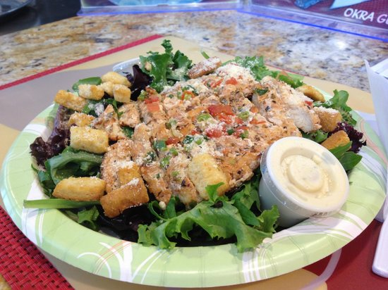 Meals From The Heart Cafe: Chicken Caesar Salad