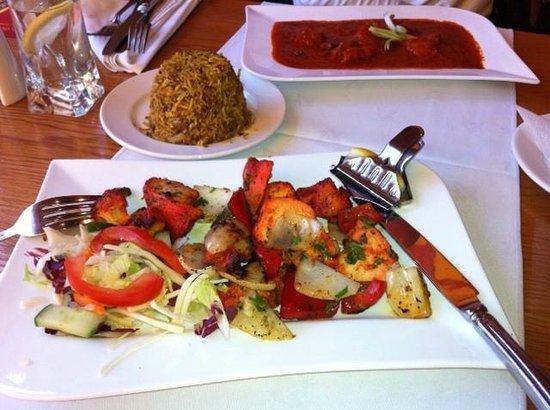 Bengal Brasserie: Chicken tikka fenugreek