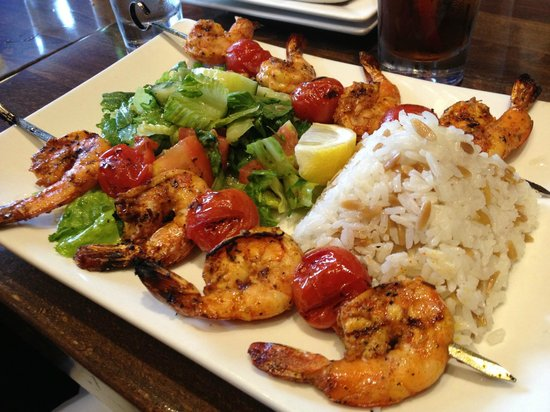 Bursa : Shrimp Kebabs