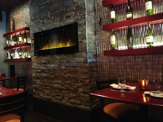 Splash Thai Cuisine: View from our table