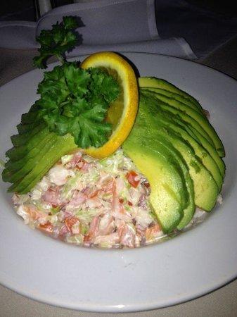 Shisau Restaurante: srimp salad