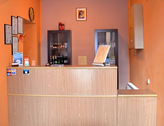 Spare Hotel: Reception
