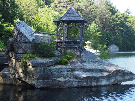 "Mohonk Mountain House: ""Summerhouse"" on Mohonk Lake"