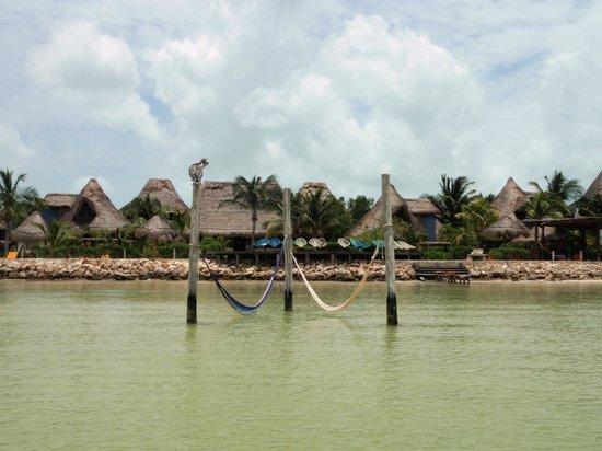Villas Flamingos: El hotel desde el mar