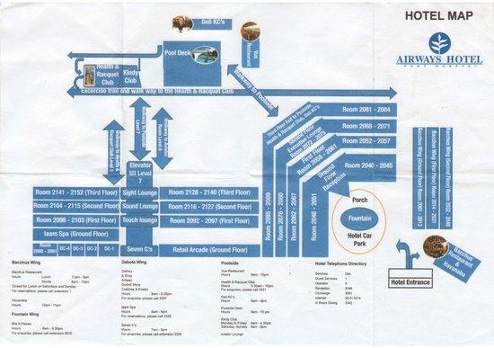 Airways Hotel Map