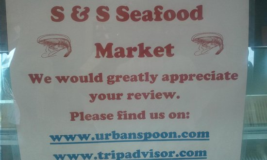 S & S Seafood Market: love this place