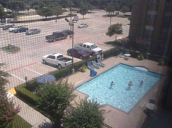 Extended Stay America - Dallas - Plano: Outside my window and to the right