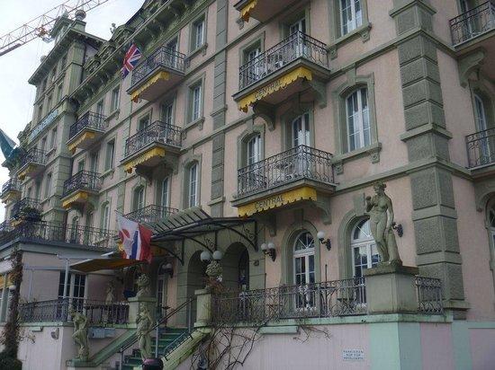 Hotel Central Continental: Frente del hotel