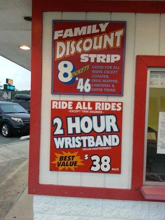 Baja Amusements: Best Deals