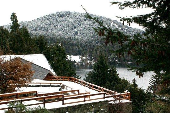 Hotel Tunquelen: Invierno en Bariloche desde la terraza del Hotel