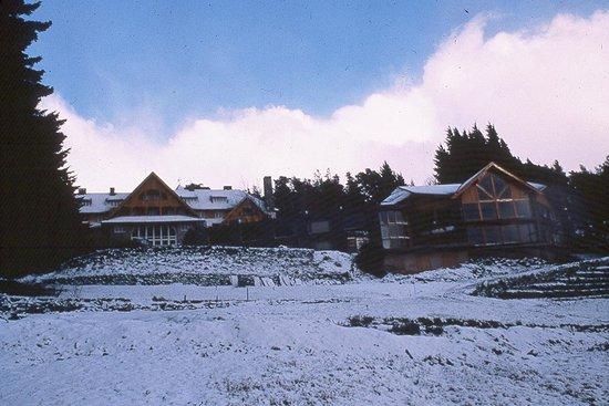 Hotel Tunquelen: El parque nevado del Hotel