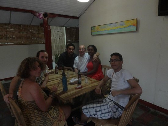 Masaya Department, Nicaragua: My family from Colombia, and DJ Luigui of course....!