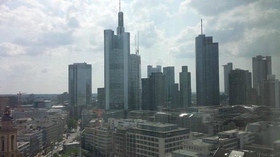 Jumeirah Frankfurt: The view
