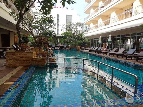 Sabai Wing: One of the pools