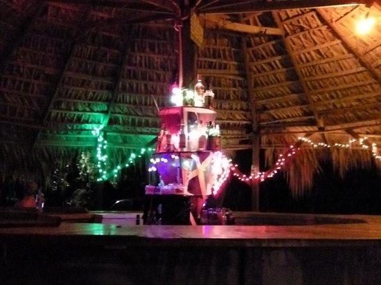 the bar at De Bar