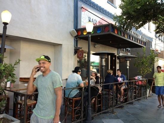 Bar Pintxo : outside seating