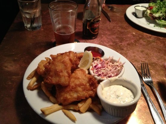 Triumph Brewing Company : Maine Cod Fish and Chips