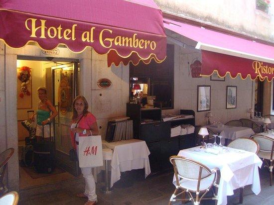 Antica Locanda al Gambero: Entrada al Hotel