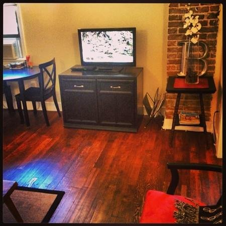 Boise Guest House: the attic room