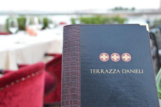 The Menu - Picture of Restaurant Terrazza Danieli, Venice ...
