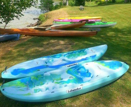 Maple Lane Resort: Our kayaks