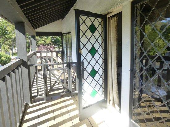 The Pelican Inn : balcony