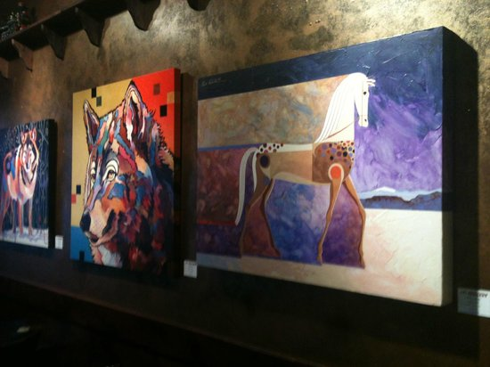 Elevated Grounds Coffeehouse: Monthly Rotating Local Artwork
