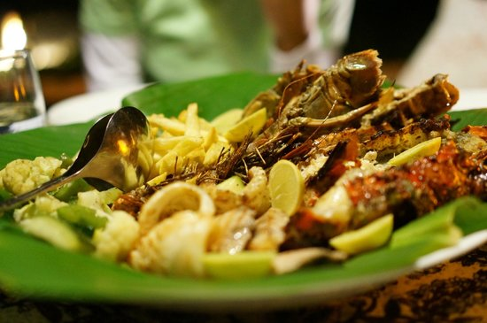 Anna of Zanzibar: Seafood feast