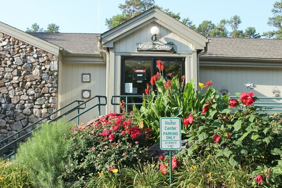 Lake Ouachita State Park Campground: Visitor's center
