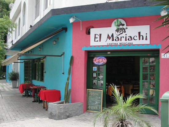 El Mariachi Cantina Mexicana: main entrance