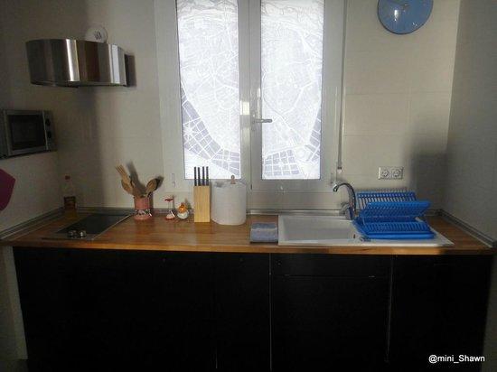Maritim Apartamentos: kitchen