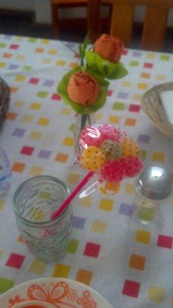 Hospeda Salvador: Mimos e decoração de mãe de David