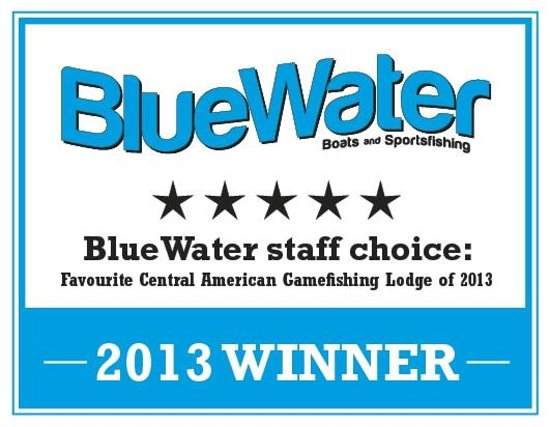 """Panama Big Game Fishing Club: PBGFC WINS """"Favourite Central American Gamefishing Lodge of 2013"""" from Bluewater Magazine"""
