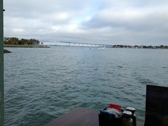 San Diego Pier Cafe : sittin on the dock of the bay